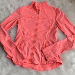 Lululemon Coral Zip Up Jacket